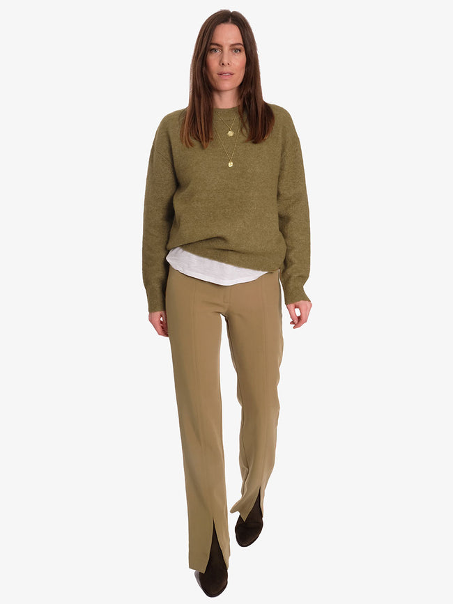 MARION TROUSERS - GREEN KHAKI