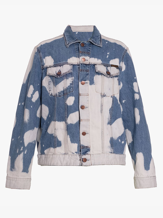 JERRY TIE DYE JACKET - DENIM