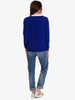 MONDAY CASHMERE JUMPER - BLUE