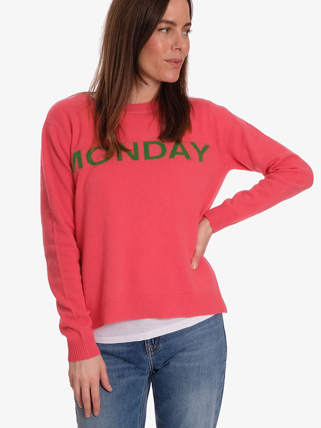 MONDAY CASHMERE JUMPER - PINK