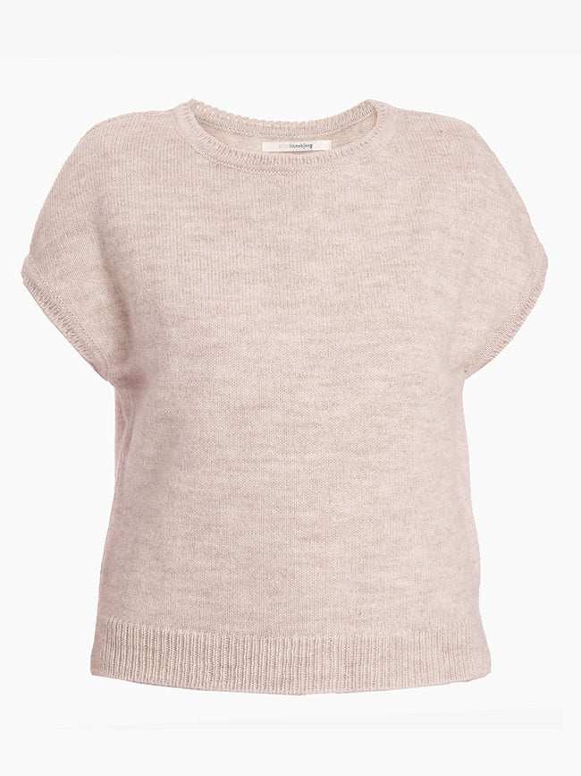 ASPEN SLEEVELESS JUMPER - SAND