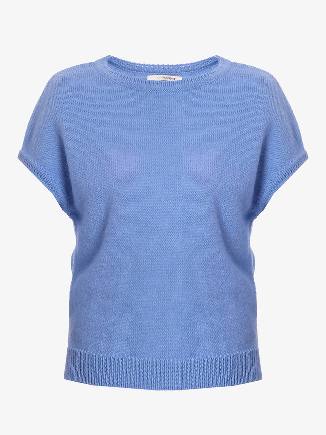 ASPEN SLEEVELESS JUMPER - OCEAN