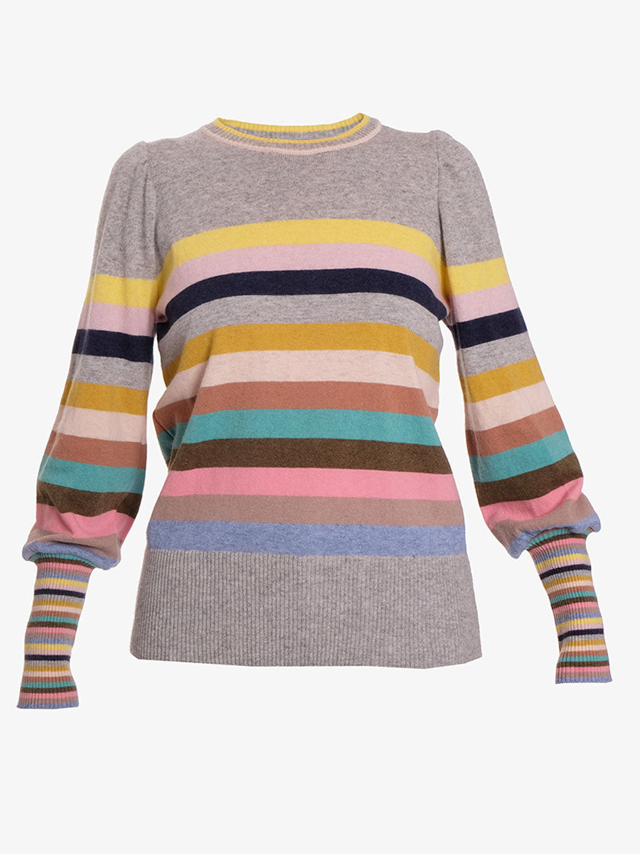 COLUMBIA STRIPE JUMPER - GREY MULTI