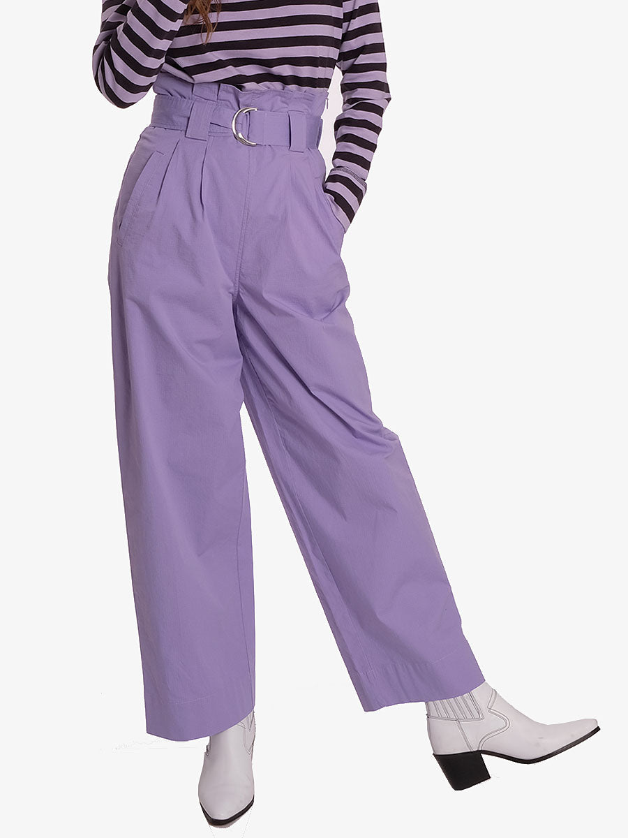 RIPSTOP COTTON CHINO - VIOLET TULIP