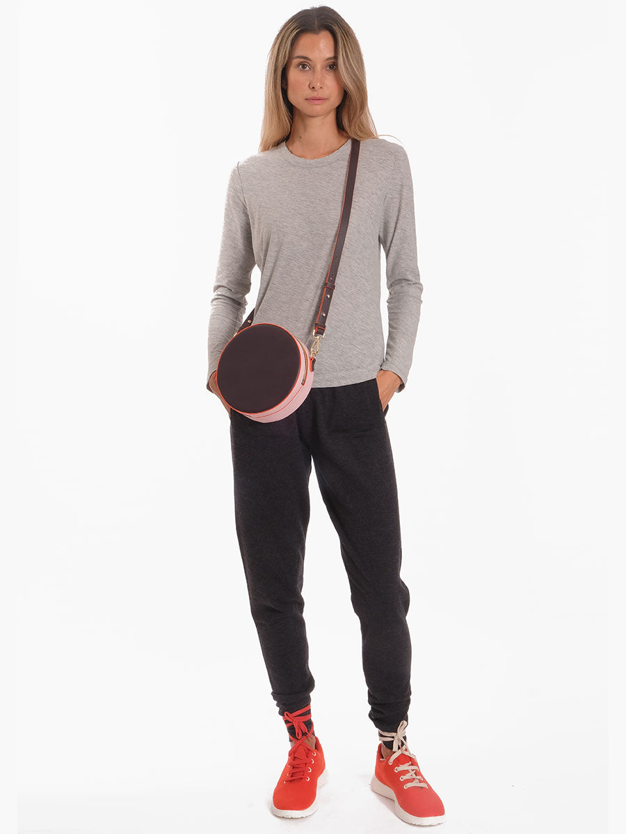 SHE KNITTED JOGGERS - ANTRAZIT