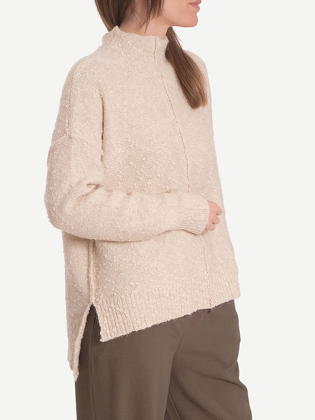 IVANA KNIT JUMPER - CREAM