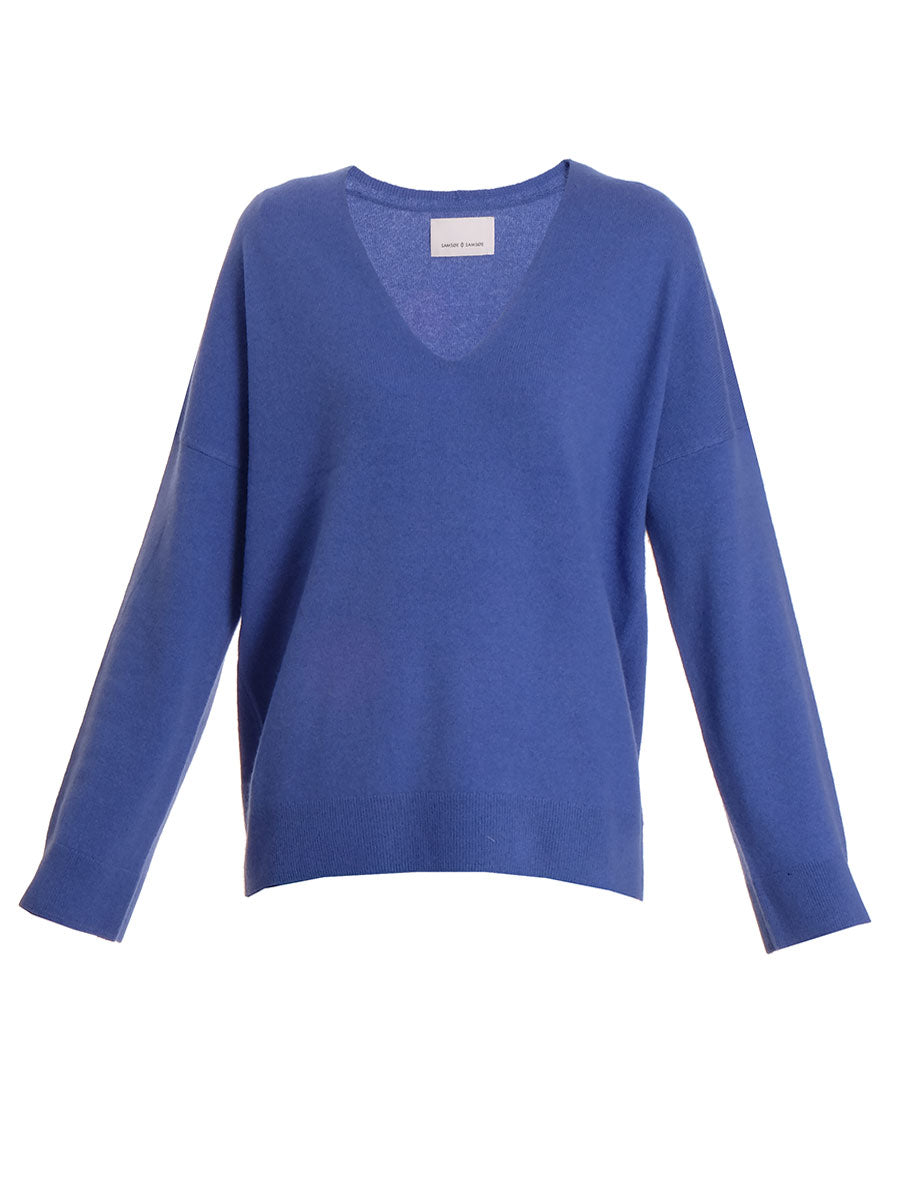 NOLA V-NECK CASHMERE SWEATER