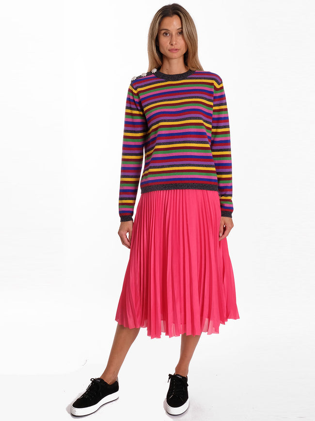 JULIETTE PLEATED SKIRT