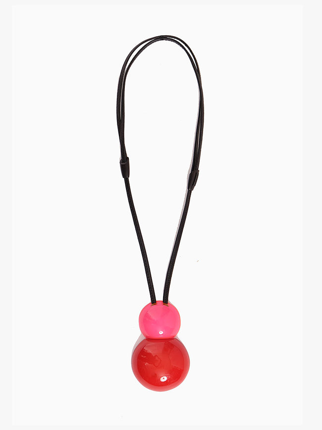 VENEZIA PENDANT NECKLACE - BERRIES POLYESTER