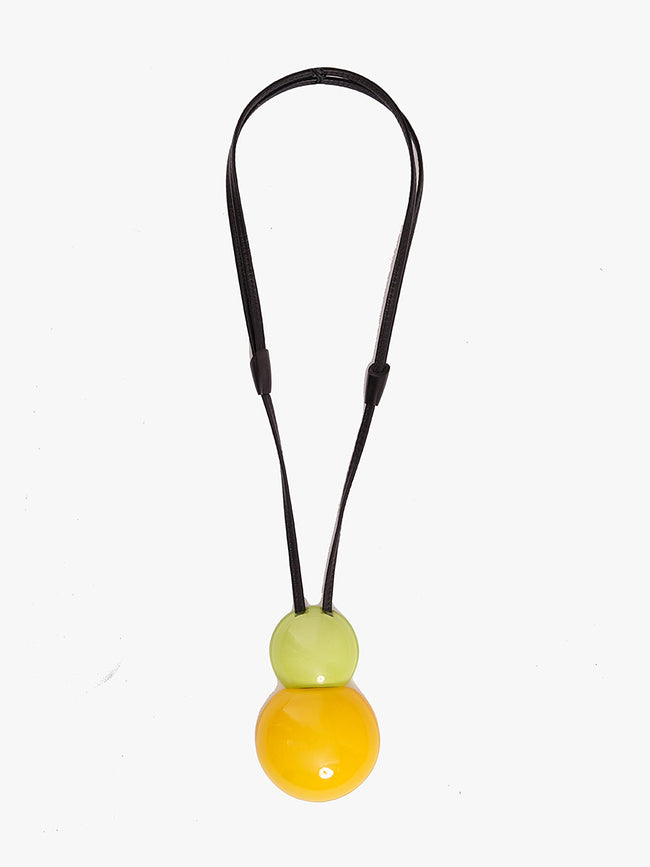 VENEZIA PENDANT NECKLACE - CITRUS POLYESTER