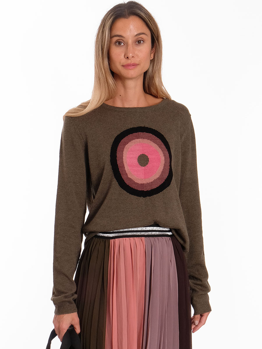 ROTONDA CIRCLE JUMPER - GREEN