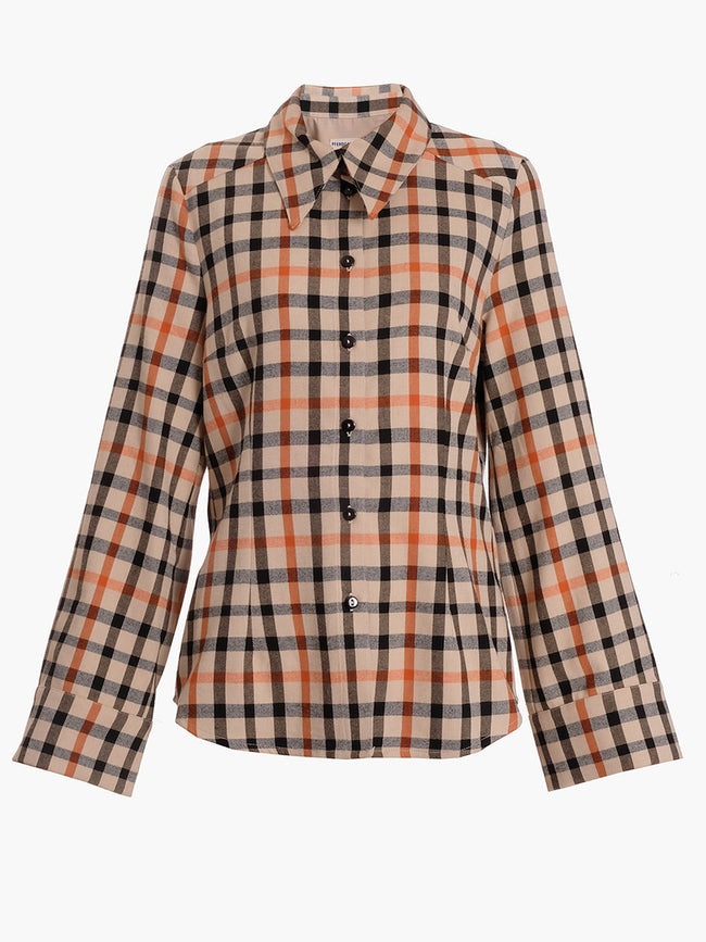 MARGRETHE CHECK SHIRT