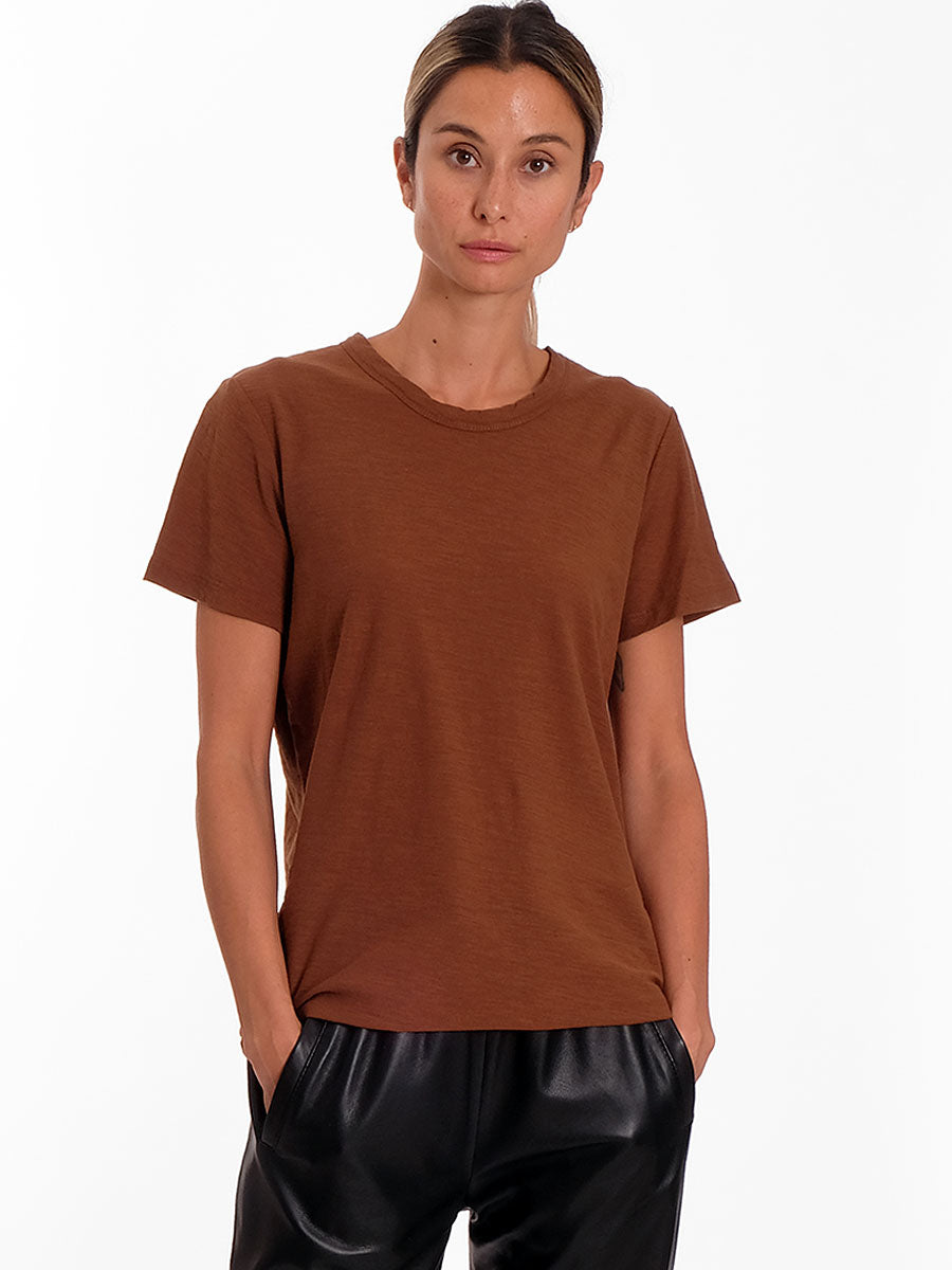 ANY1 CREW NECK TSHIRT - BROWN
