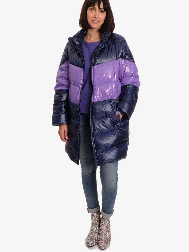 PUFFER COAT - PURPLE
