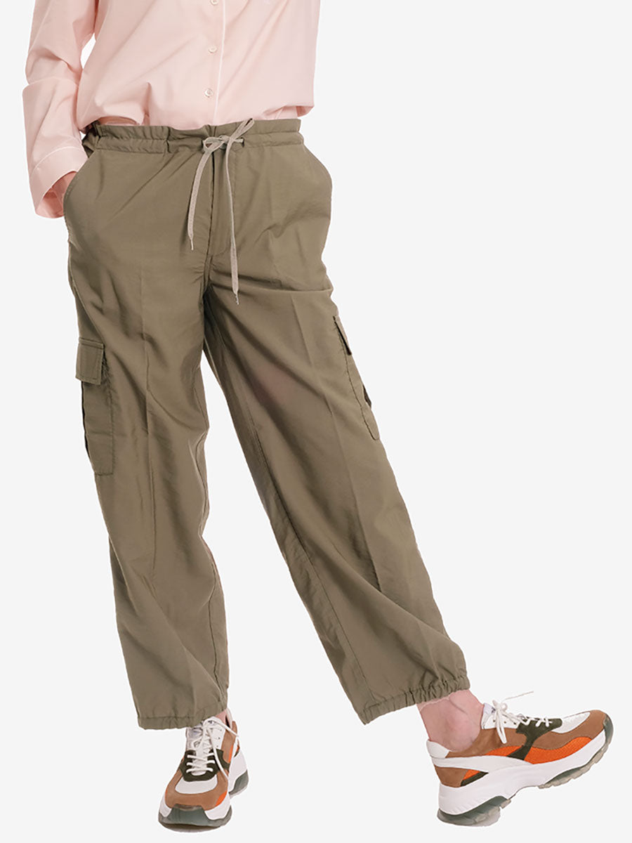 BIANCA ALL TIME TROUSERS - KHAKI GREEN