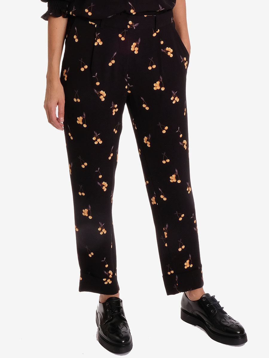 NARETHE CHERRY TROUSER
