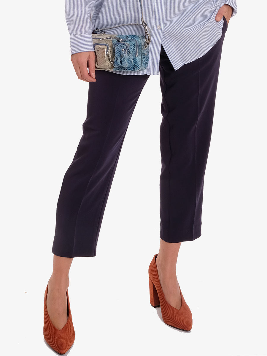 HELENA 2 SLIM TROUSERS - NAVY