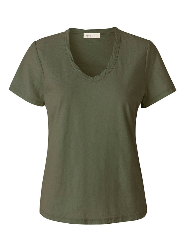 ANY2 T-SHIRT - DUSTY OLIVE