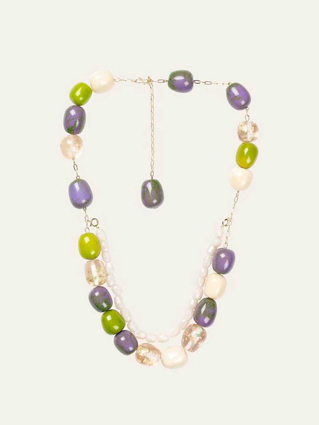 EMILIA NECKLACE - LIME