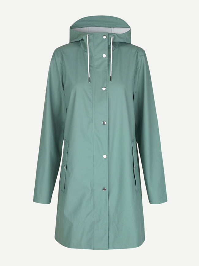 STALA RAINCOAT CHINOIS GREEN