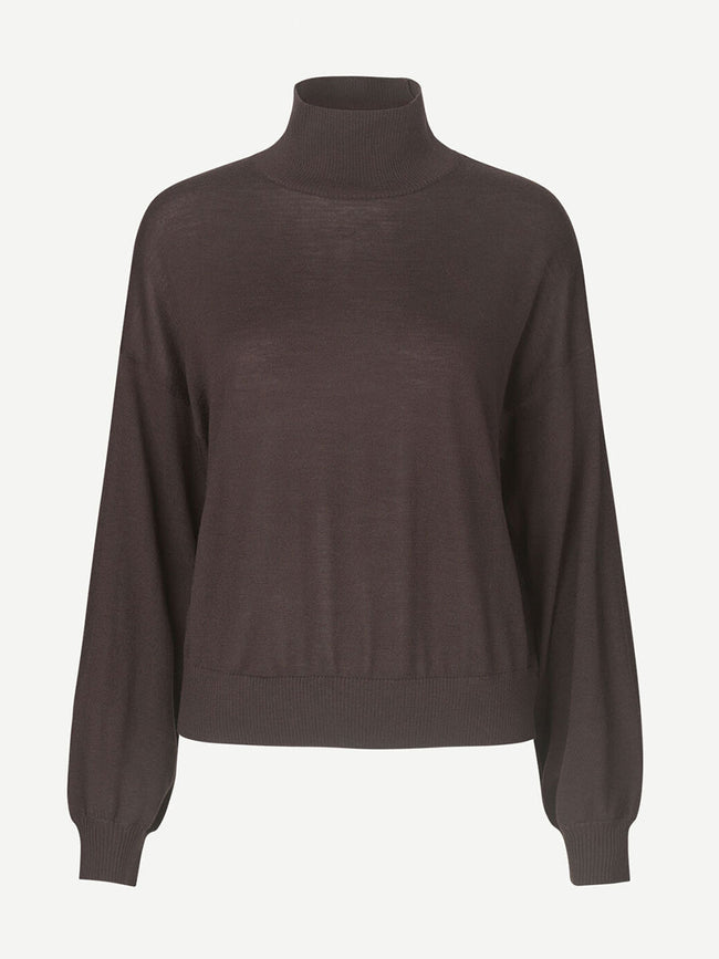 KLEO TURTLENECK JUMPER - MOLE