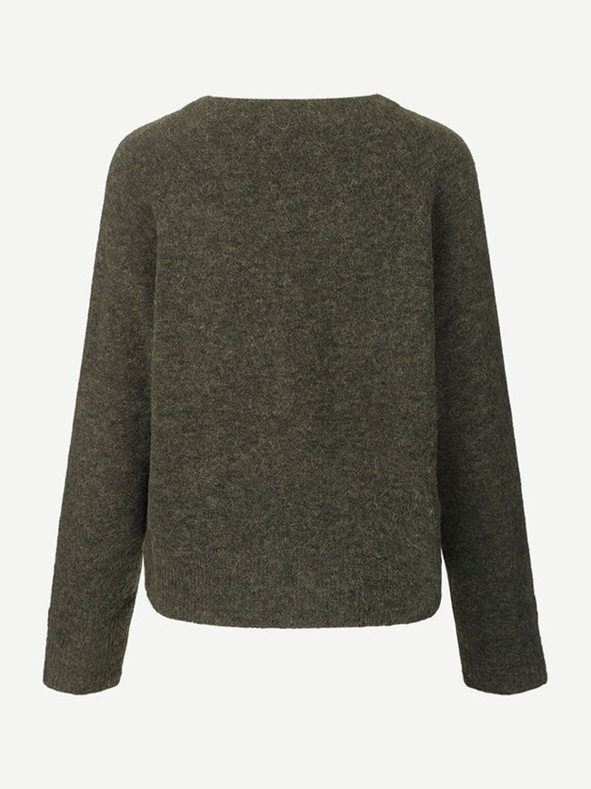 NOR O-N SHORT JUMPER - BLACK OLIVE MEL