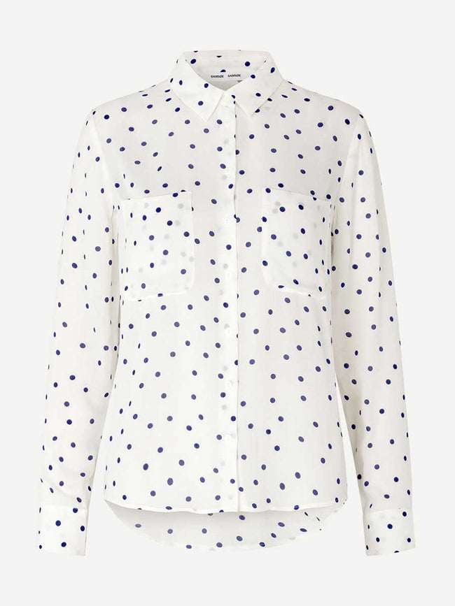 MILLY SHIRT AOP - CLEMATIS DOT
