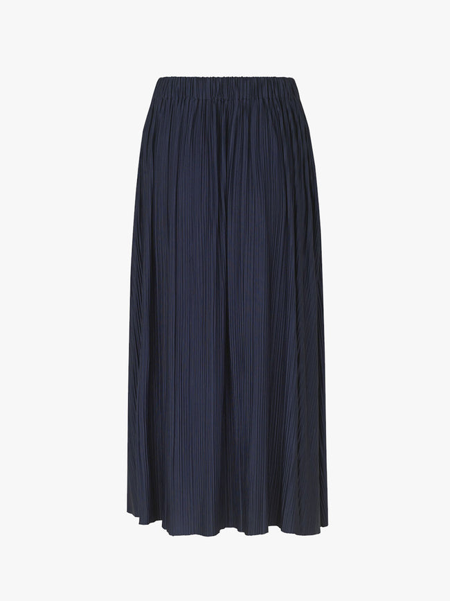 UMA PLEATED SKIRT - NIGHT SKY