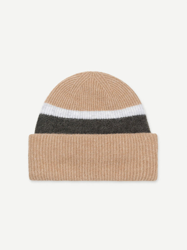 NOR HAT ST - CAMEL BROWN STRIPE