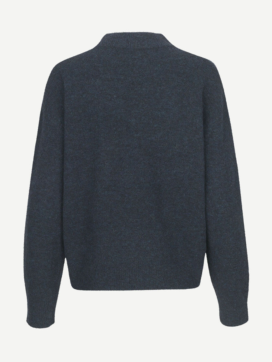 ANOUR JUMPER - DARK BLUE