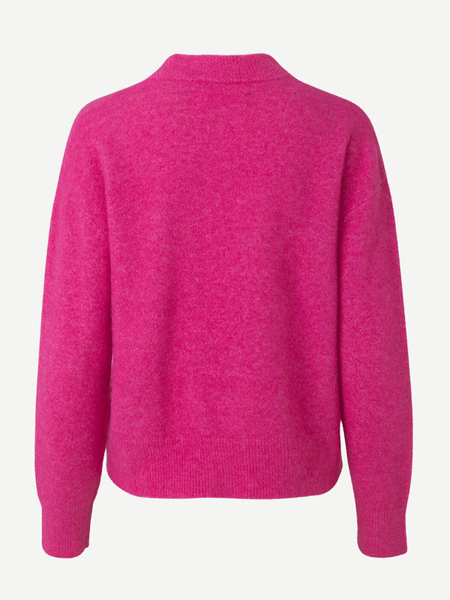 ANOUR JUMPER - BEETROOT PURPLE