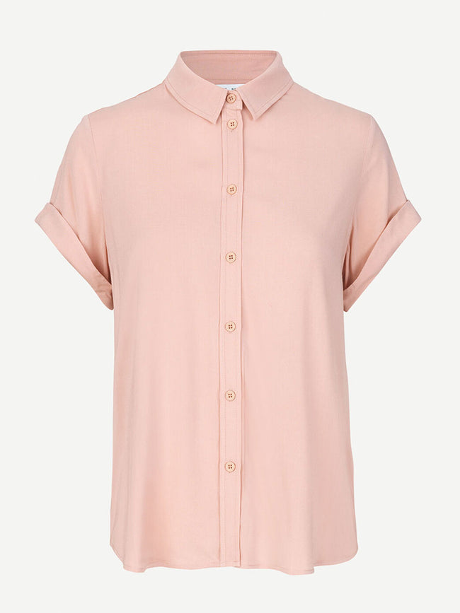 MAJAN SHORT SLEEVE SHIRT - MISTY ROSE