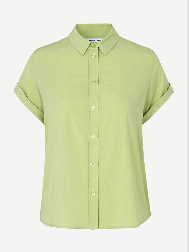 MAJAN SHORT SLEEVE SHIRT - TARRAGON