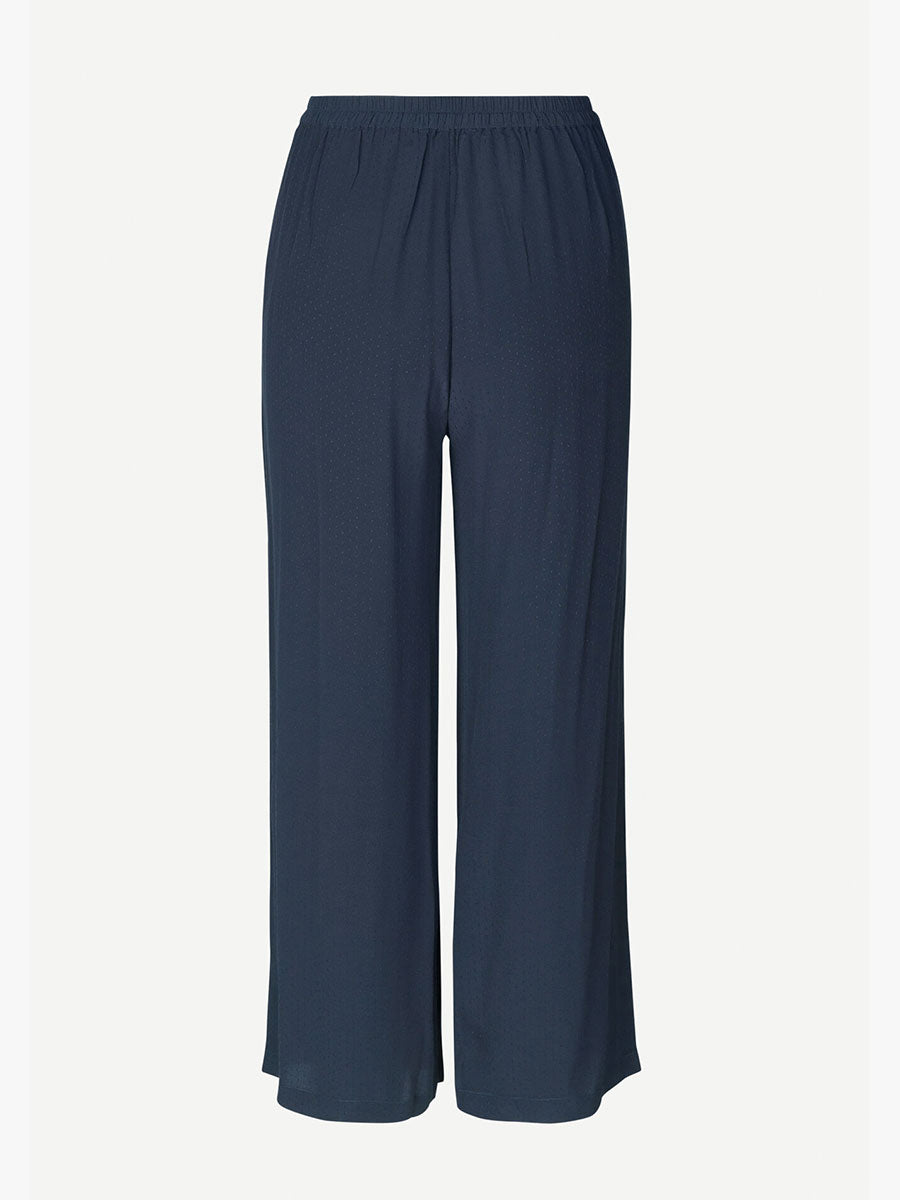 GANDA WIDE LEG TROUSERS - NIGHT SKY