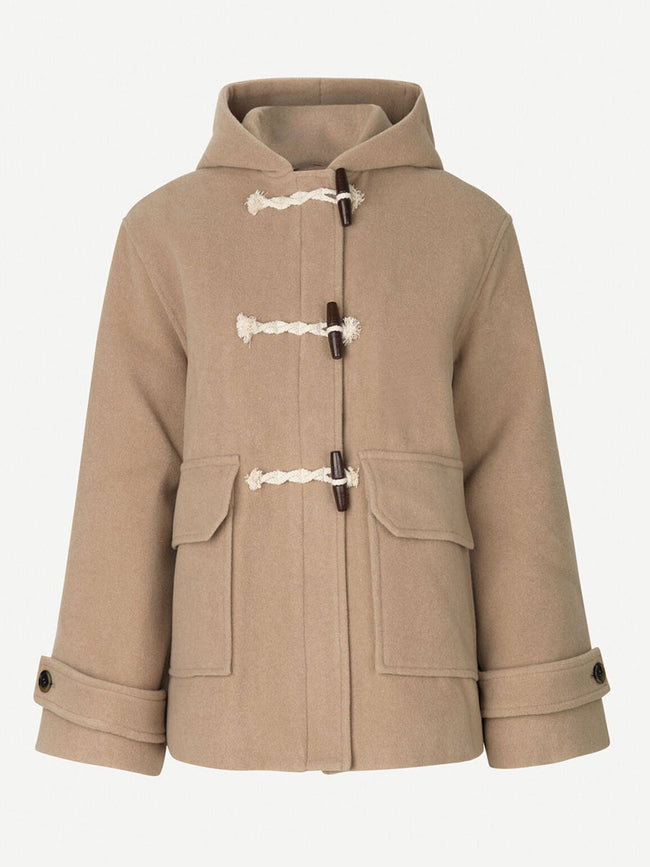DAIMY JACKET - CAMEL