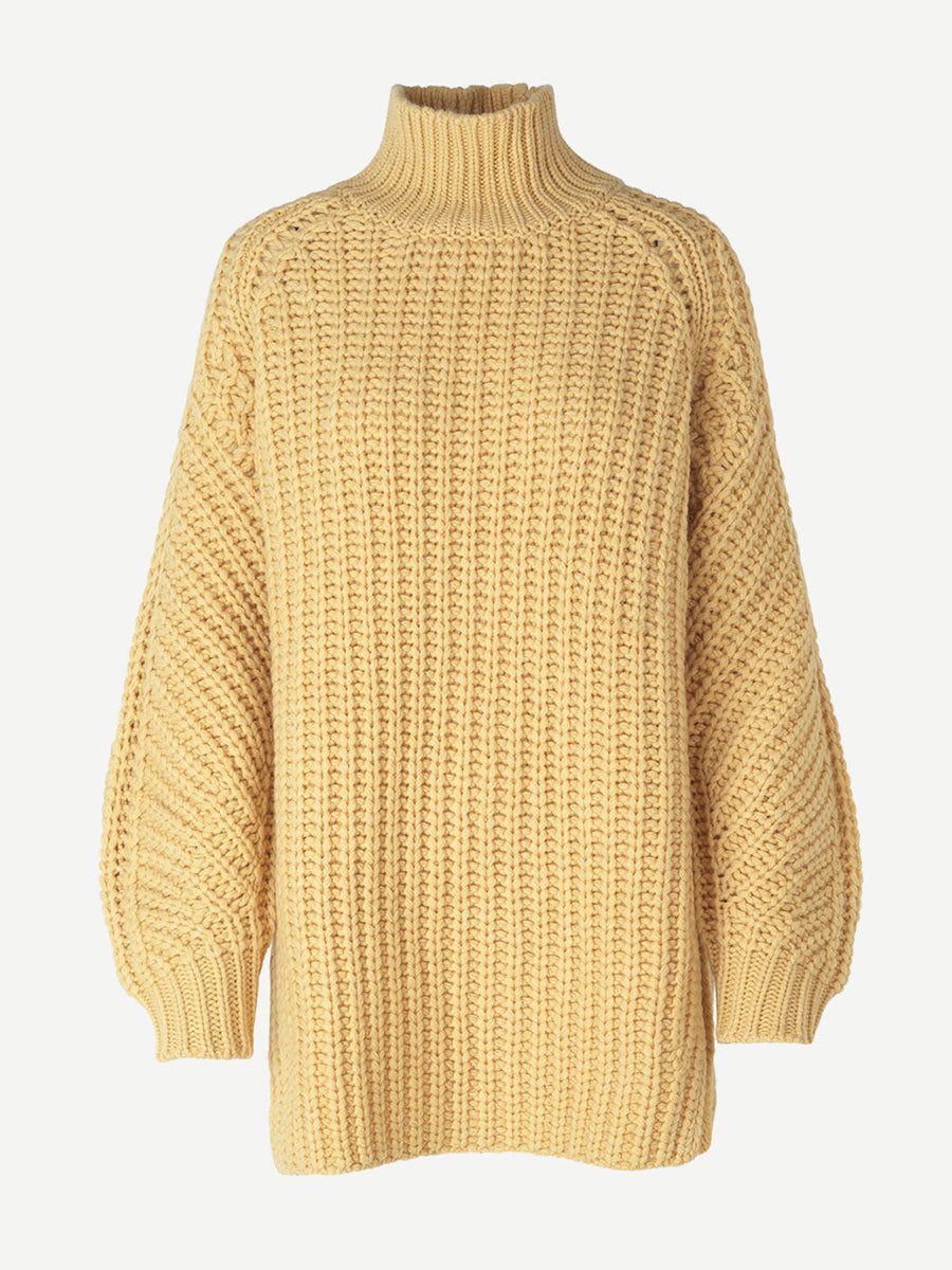 ZELMA TURTLENECK - NEW WHEAT