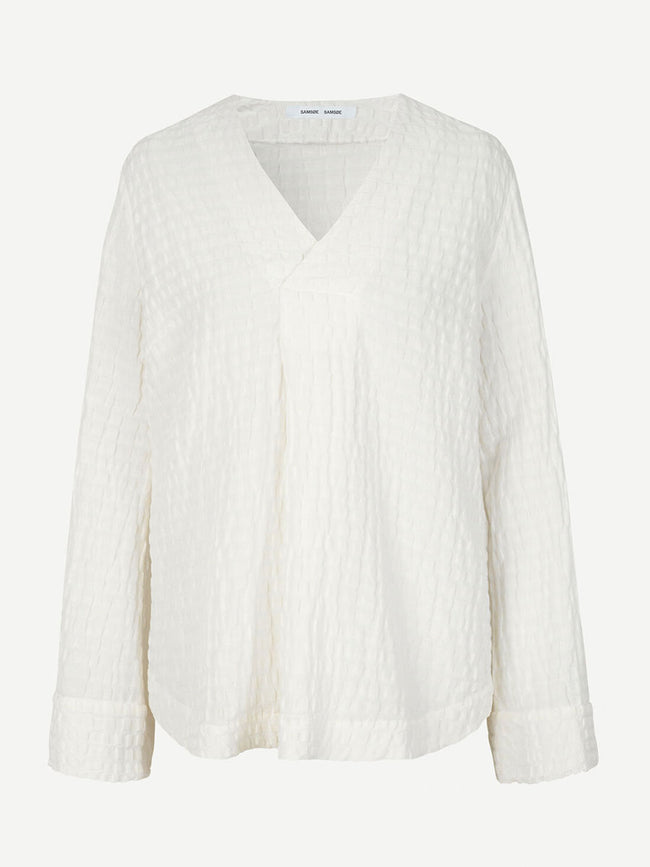 JUTA BLOUSE - WARM WHITE