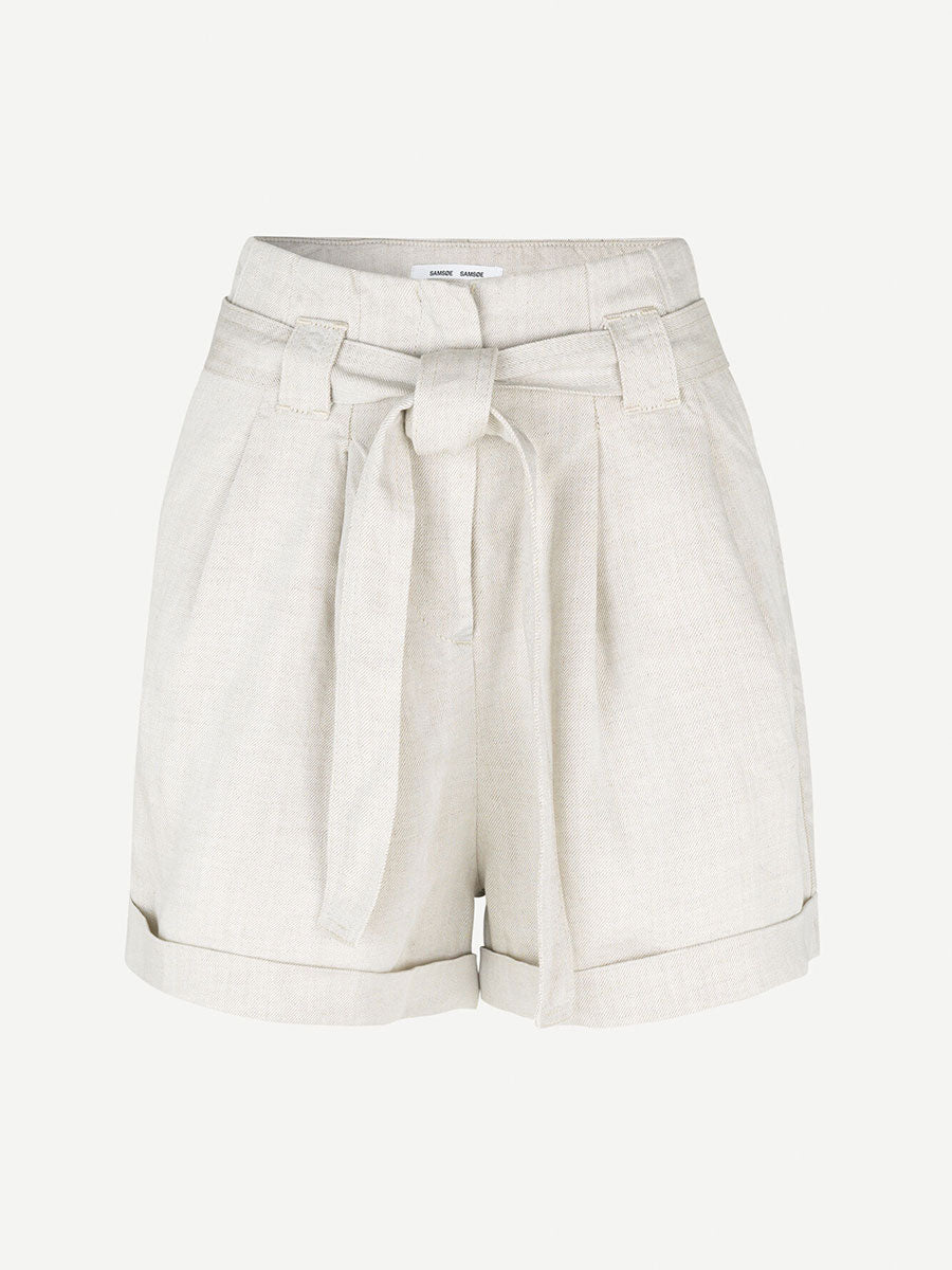 MANZ PAPERBAG SHORTS - WARM WHITE