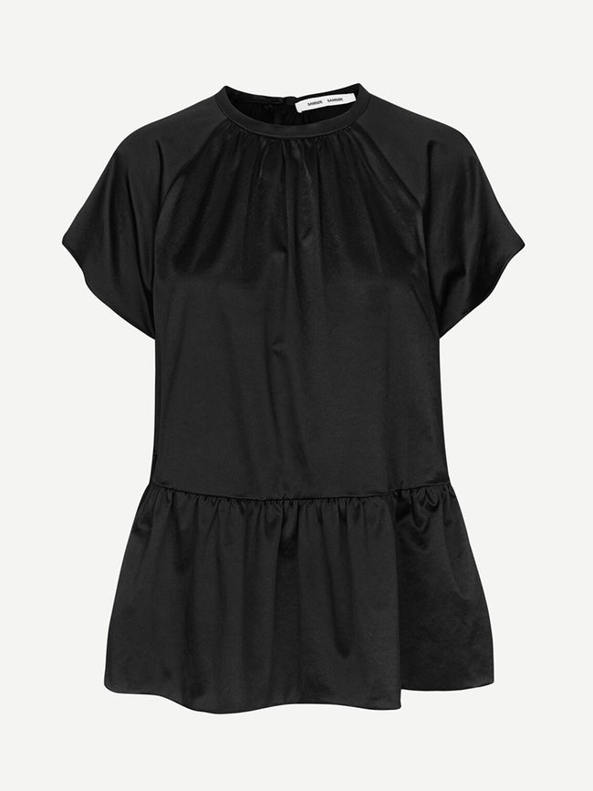 STAR BLOUSE - BLACK