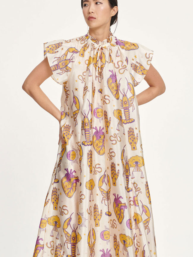 KAROOKH LONG DRESS - TAROT TAPESTRY