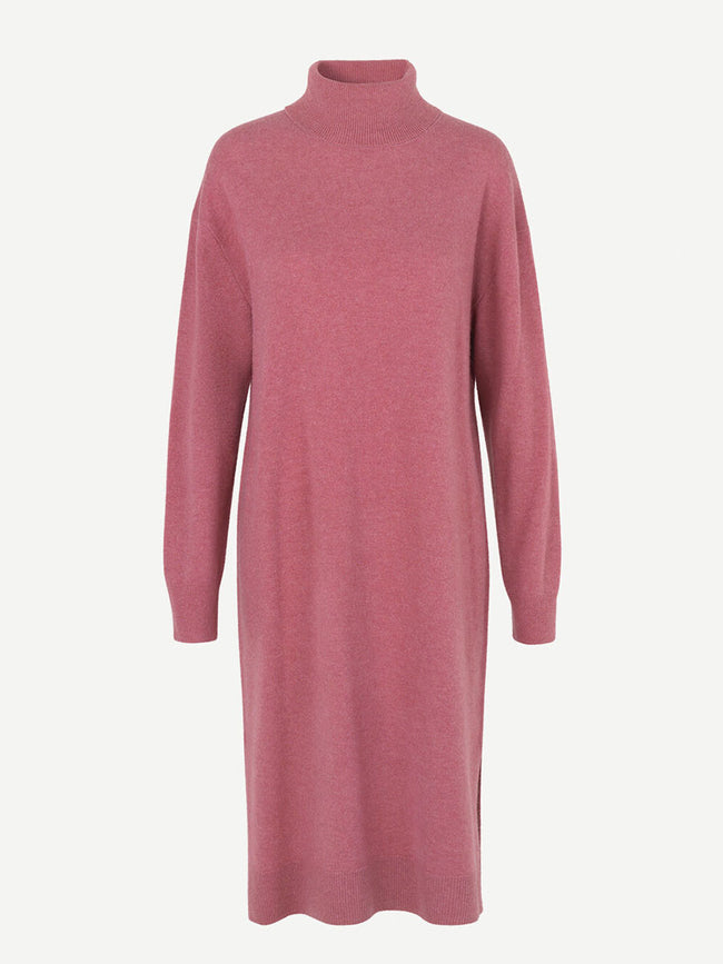 AMARIS KNITTED DRESS - PINK MEL