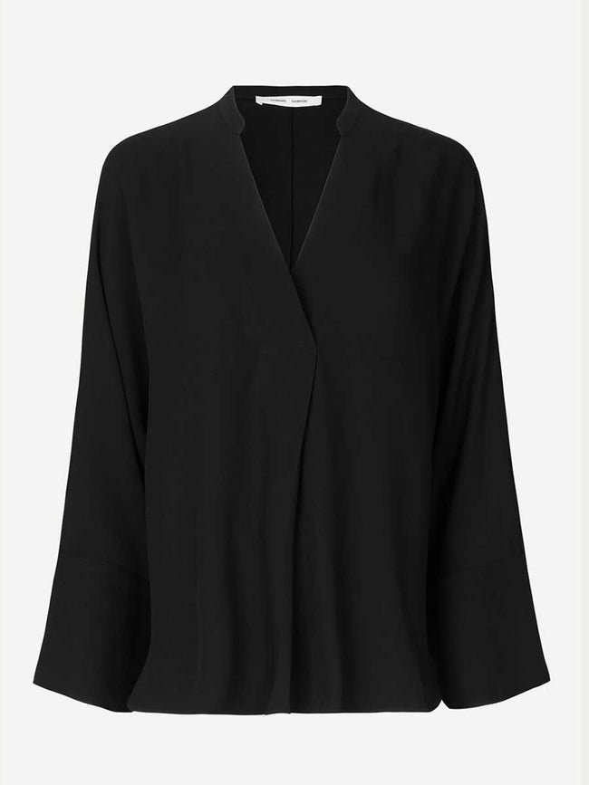 EMMU BLOUSE - BLACK