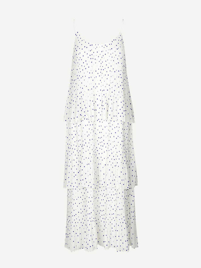 TATIANA DRESS AOP - CLEMATIS DOT