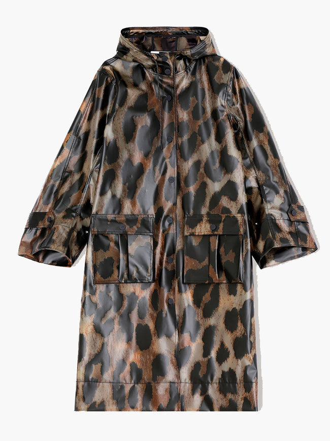 THERMOSHELL JACKET - MAXI LEOPARD