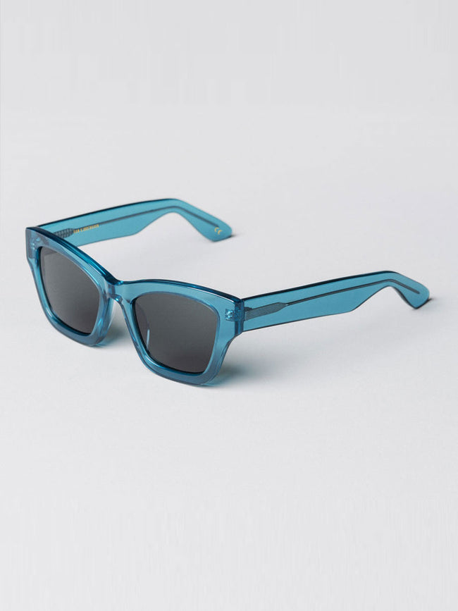 BRICK BLUE RETRO SUNGLASSES