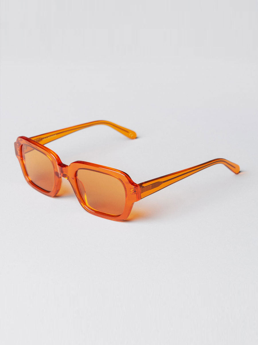 CODE ORANGE SQUARE SUNGLASSES