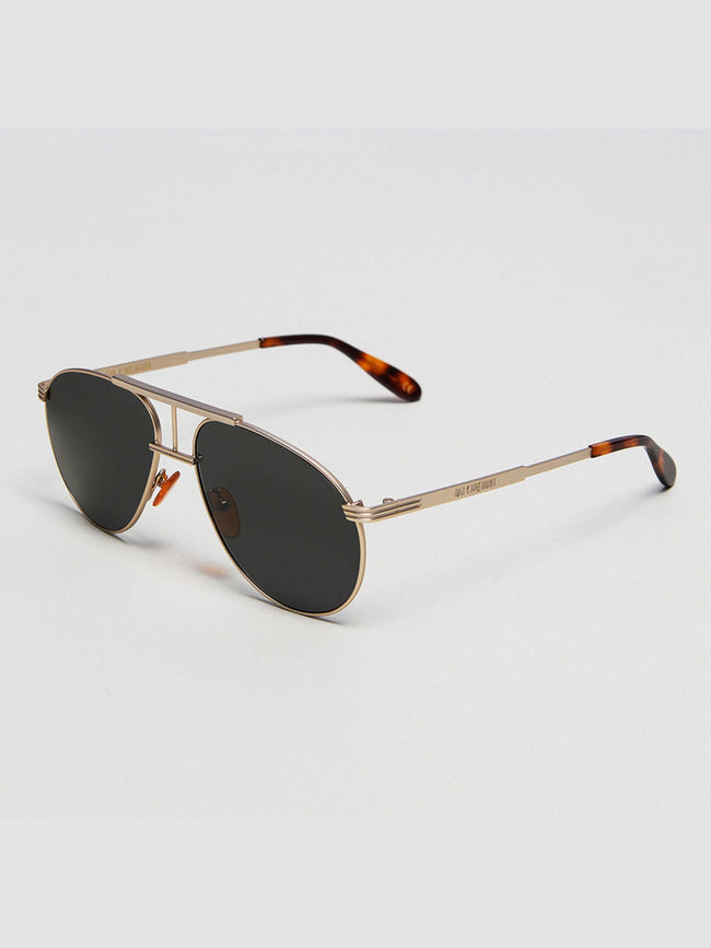 HIGH AVIATOR SUNGLASSES - MATTE GOLD