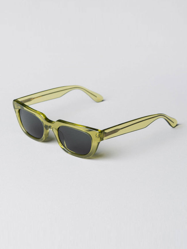 ROOT GREEN HALF MOON SUNGLASSES