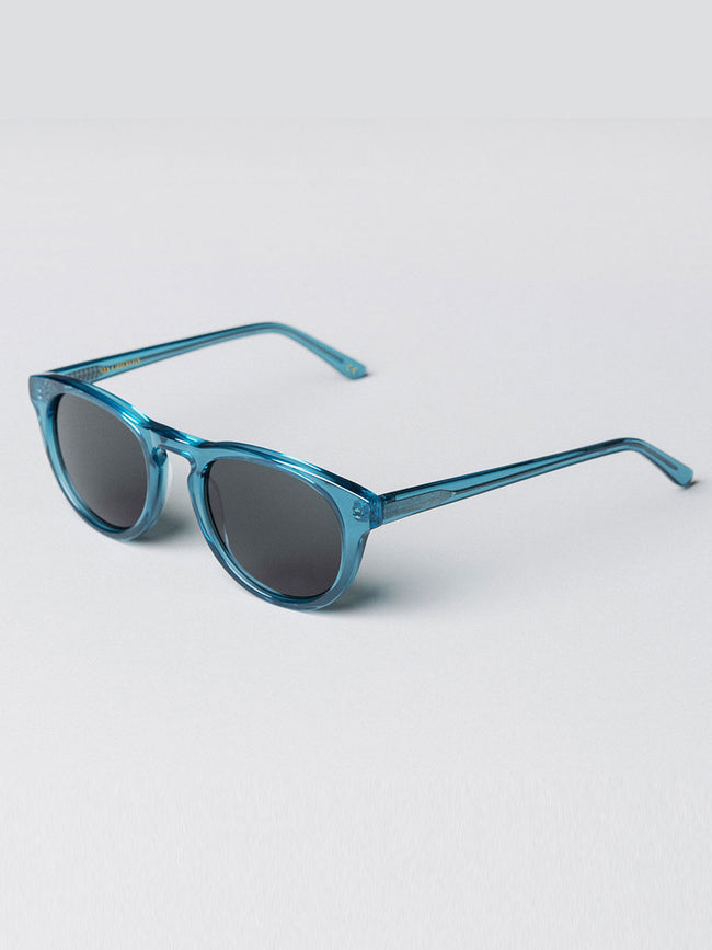 TIMELESS SUNGLASSES - TRANSPARENT BLUE