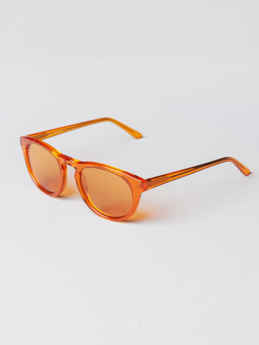 TIMELESS TRANSPARENT ORANGE SUNGLASSES